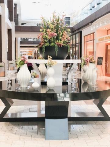 mall floral arrangement